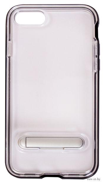 Чехол Biggo для iPhone 7/8 (черный) — фото, картинка