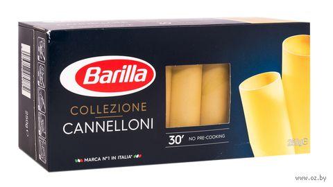 "Макароны ""Barilla. Collezione Cannelloni"" (250 г) — фото, картинка"