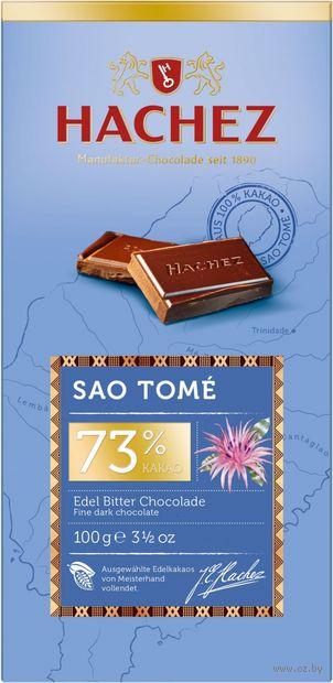 """Шоколад горький """"Sao Tome"""" (100 г) — фото, картинка"""