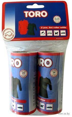 Ролик для чистки одежды сменный пластмассовый (2 шт.; 100 мм) — фото, картинка