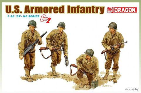 """Набор миниатюр """"U.S. Armored Infantry"""" (масштаб: 1/35) — фото, картинка"""