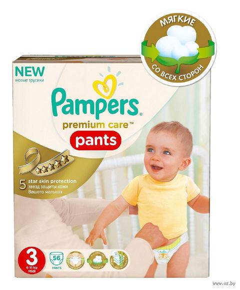 "Подгузники-трусики ""Premium Care Pants Midi"" (6-11 кг; 56 шт)"