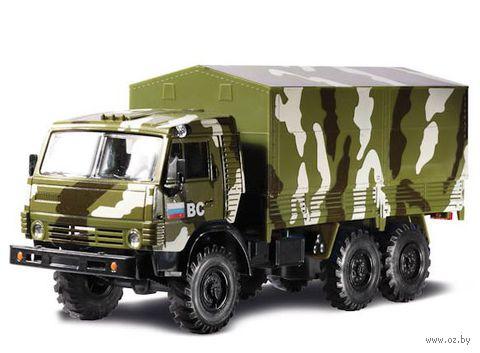 "Модель машины ""Камаз военный"" (масштаб: 1/43)"