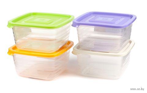 """Контейнер для продуктов пластмассовый """"Унико"""" (2,1 л; арт. С211)"""