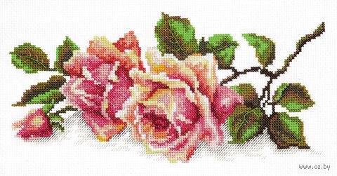 """Вышивка крестом """"Аромат розы"""""""