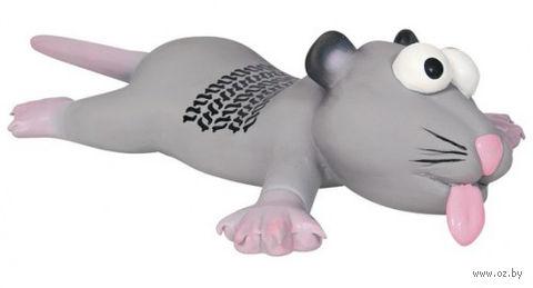 """Игрушка для собаки с пищалкой """"Крыса"""" (22 см)"""