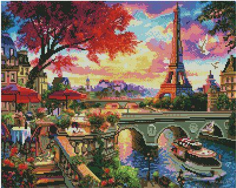 "Набор для творчества ""Алмазная мозаика"" ""OZD112021-055"" (400х500 мм) — фото, картинка"
