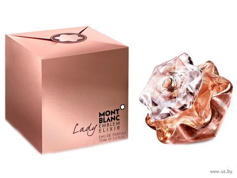 """Парфюмерная вода для женщин Mont Blanc """"Lady Emblem Elixir"""" (75 мл) — фото, картинка"""