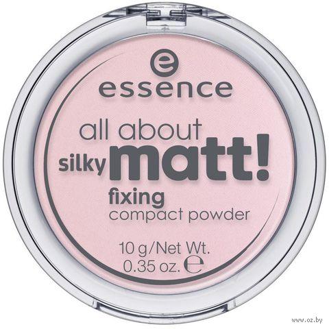 "Компактная пудра для лица ""All About Silky Matt!"" тон: 10 — фото, картинка"