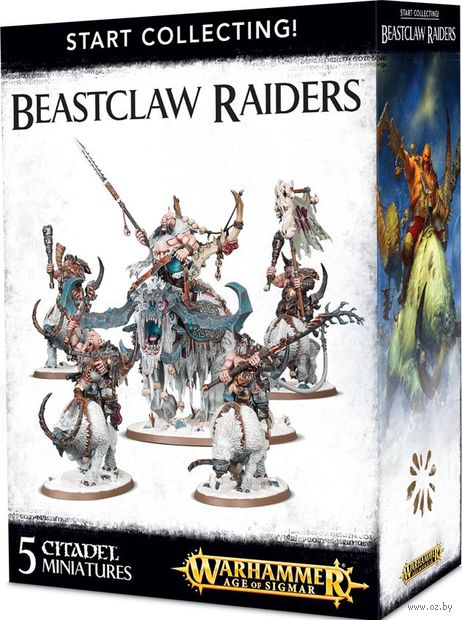 Warhammer Age of Sigmar. Beastclaw Raiders. Start Collecting (70-86) — фото, картинка