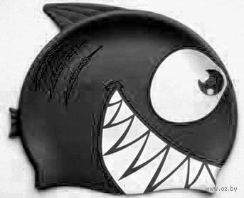 Шапочка для плавания FC202 (чёрная) — фото, картинка