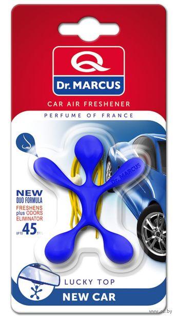"""Ароматизатор """"Dr.Marcus Lucky Top"""" (New Car; арт. 26764) — фото, картинка"""