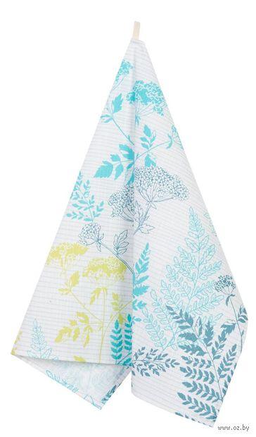 "Полотенце текстильное ""Ботаника"" (45х60 см) — фото, картинка"