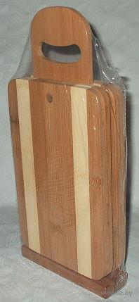 Набор досок разделочных на подставке (4 шт.; арт. BB101150)