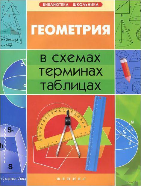 Геометрия в схемах, терминах, таблицах. Александр Роганин