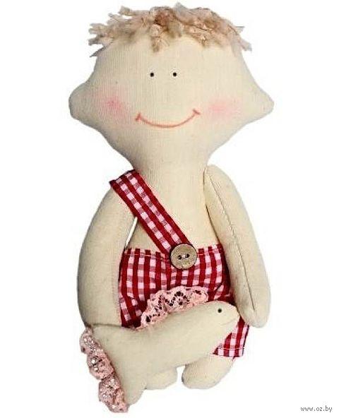 """Набор для шитья из ткани """"Кукла. Димка"""""""