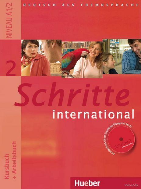 Schritte international 2. Kursbuch + Arbeitsbuch + CD