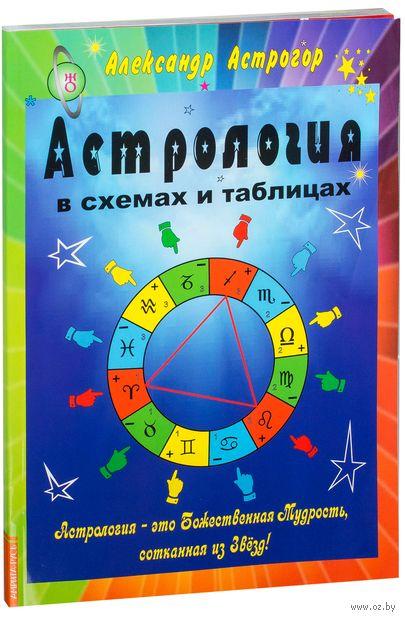 Астрология в схемах и таблицах — фото, картинка