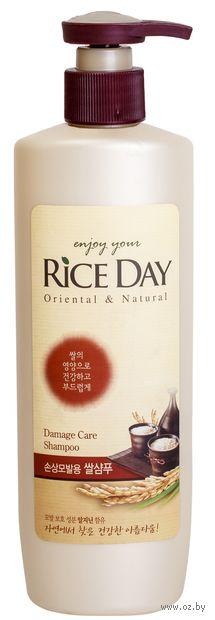 """Шампунь для волос """"Rice Day. Для поврежденных волос"""" (550 мл) — фото, картинка"""