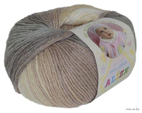"""Пряжа """"ALIZE. Baby Wool Batik Design №4726"""" (50 г; 175 м; секционный) — фото, картинка"""