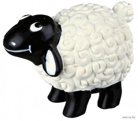 """Игрушка для собаки с пищалкой """"Овца"""" (9 см)"""