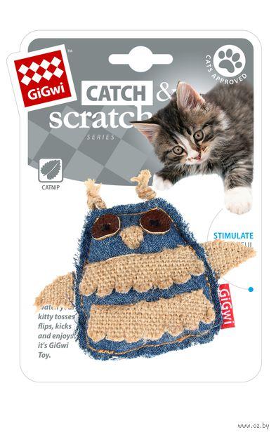 """Игрушка для кошек """"Сова"""" с кошачьей мятой (7 см) — фото, картинка"""