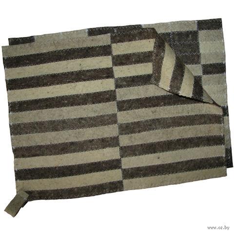 Коврик для сауны (47х35 см) — фото, картинка