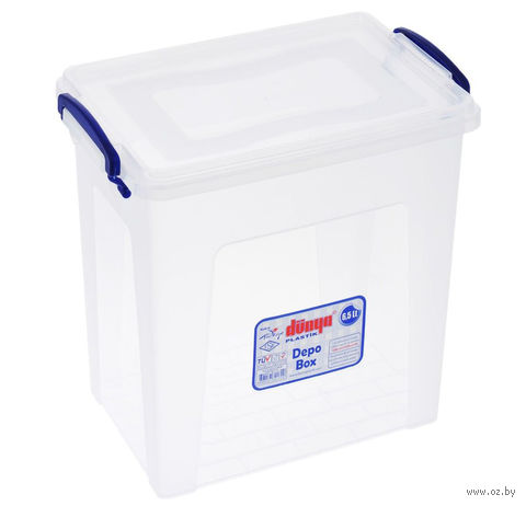 Ящик для хранения с крышкой (6,5 л; арт. 30172) — фото, картинка