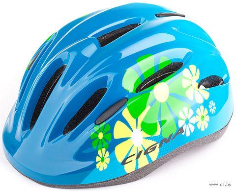 """Шлем велосипедный детский """"WT-024"""" (чёрно-синий) — фото, картинка"""