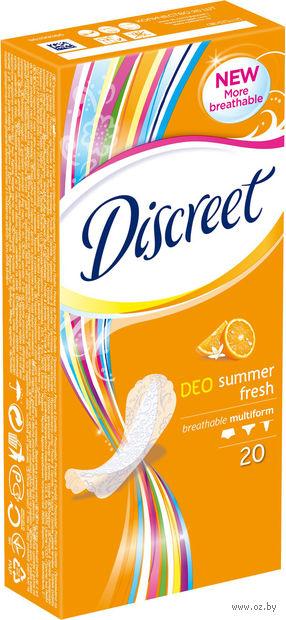 """Ежедневные прокладки Discreet Deo """"Летняя свежесть"""" (20 шт)"""