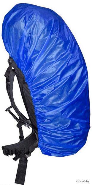 Чехол на рюкзак (васильковый, 30-40 литров)