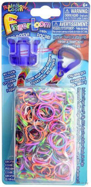 """Набор для плетения из резиночек """"Finger Loom. Фиолетовый"""""""