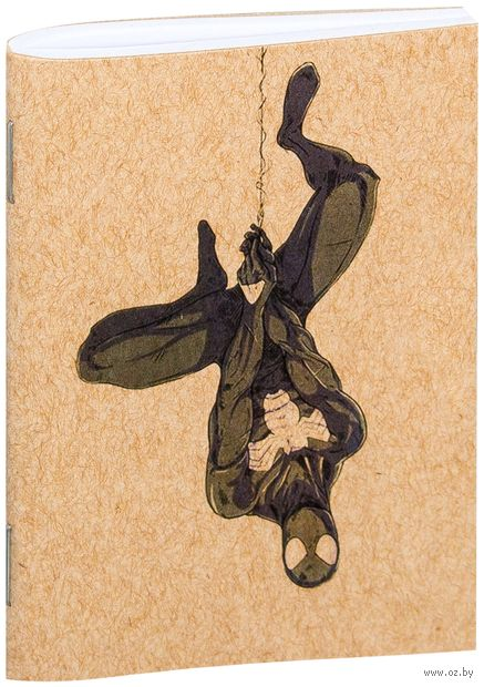 "Блокнот крафт ""Человек-паук"" А7 (766)"