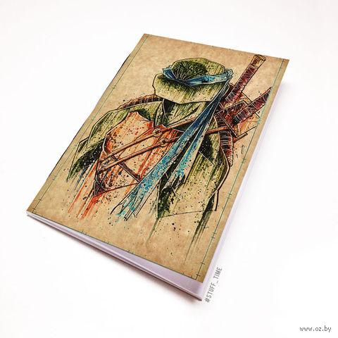 """Блокнот крафт """"Черепашки ниндзя"""" (А5; арт. 923)"""