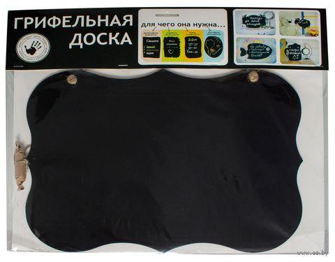 Доска грифельная декоративная (370х280 мм)