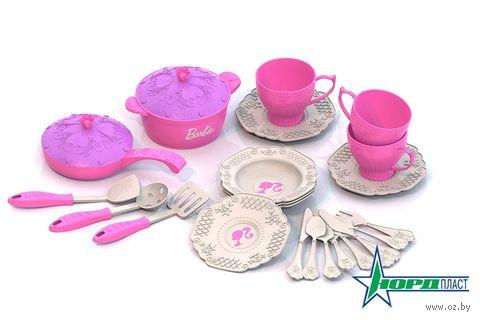 """Набор детской посуды """"Барби"""" (арт. 630) — фото, картинка"""