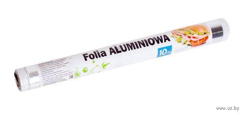 Фольга алюминиевая (290 мм х 10 м) — фото, картинка