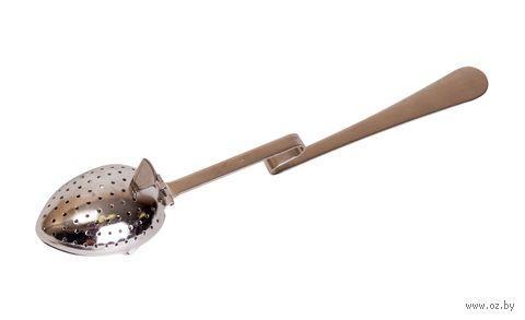 Приспособление для заваривания чая металлическое (195х40х30 мм) — фото, картинка