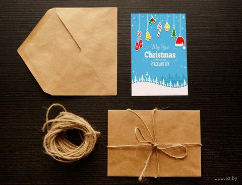 "Открытка ""Christmas"" (арт. 1) — фото, картинка"