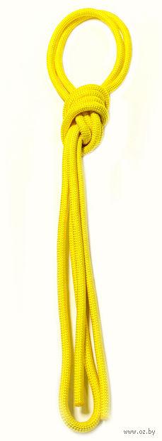 Скакалка для художественной гимнастики Pro 10103 (жёлтая) — фото, картинка