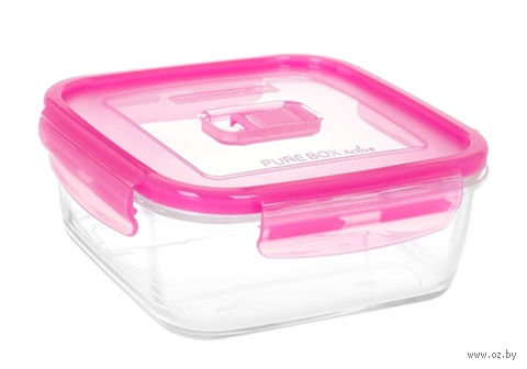Контейнер для еды (0,76 л; розовый) — фото, картинка