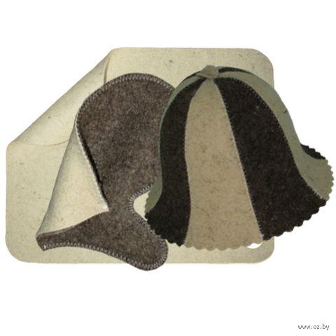 Набор для сауны (3 предмета; арт. Н-3) — фото, картинка