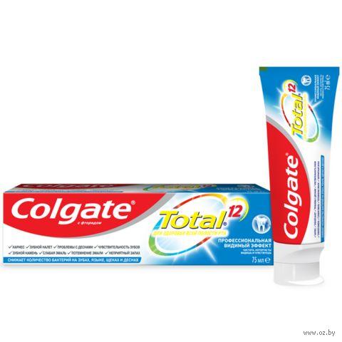 """Зубная паста """"Total 12 Антибактериальная. Видимый эффект"""" (75 мл) — фото, картинка"""