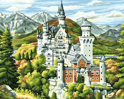 "Картина по номерам ""Замок Нойшванштайн"" (400х500 мм)"