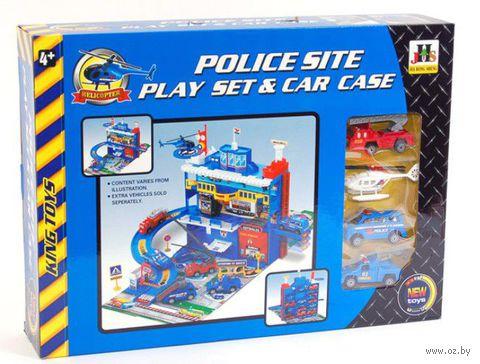 """Игровой набор """"Police Site"""" — фото, картинка"""