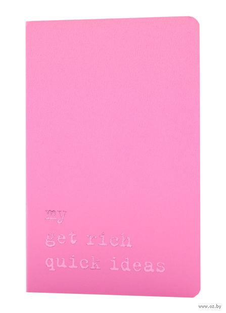 "Записная книжка в линейку ""Volant. My Golden Rules for Success"" (А6; светло-розовая) — фото, картинка"