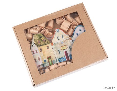 Вешалка для ключей деревянная (190х100 мм) — фото, картинка