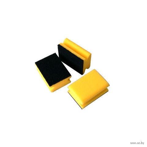 Губка для мытья посуды поролоновая (3 шт.; 100х70 мм)