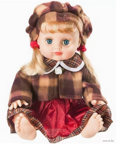 Кукла в теплом платье (в сумке)