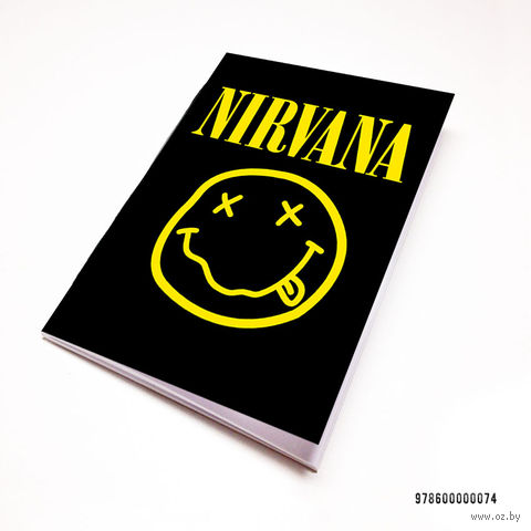 "Блокнот белый ""Nirvana"" А7 (074)"